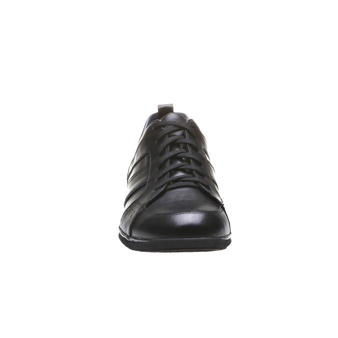 Kožené tenisky bata, čierna, 824-6351 - 16