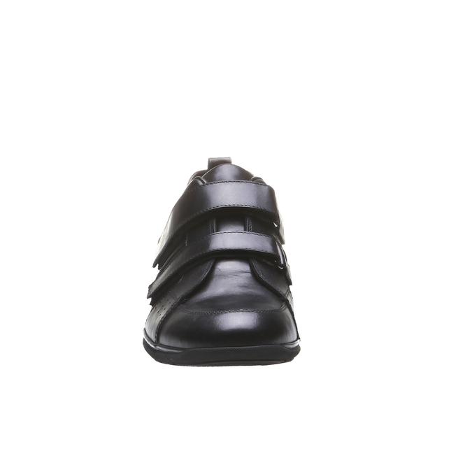 Kožené tenisky bata, čierna, 814-6344 - 16