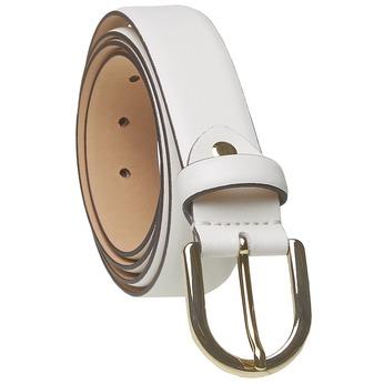 Biely kožený opasok bata, biela, 954-1159 - 13