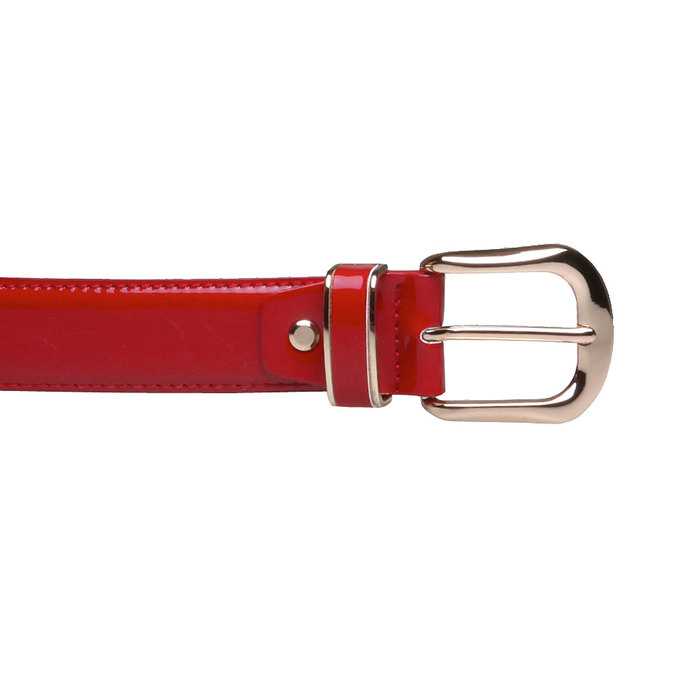 Červený opasok bata, červená, 951-5131 - 26