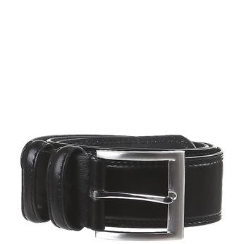 Klasický kožený opasok bata, čierna, 954-6888 - 13
