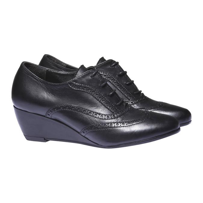 Dámska členková obuv bata, čierna, 624-6142 - 26