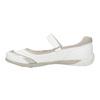 Biele baleríny s remienkom cez priehlavok bata, biela, 321-1310 - 26