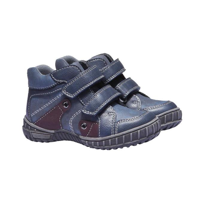 Detská obuv mini-b, modrá, 291-9136 - 26