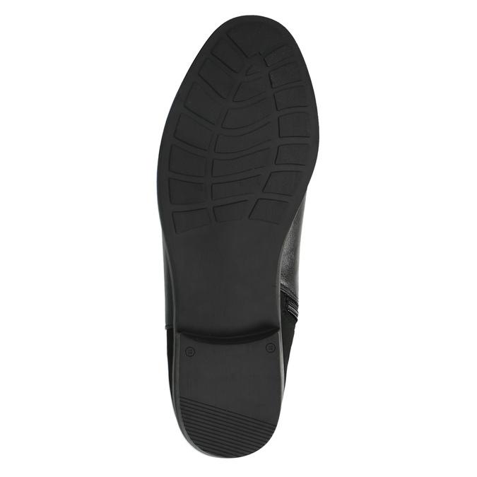 Dámské čižmy nad kolená bata, čierna, 591-6604 - 26