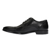 Pánske kožené poltopánky bata, čierna, 824-6710 - 26
