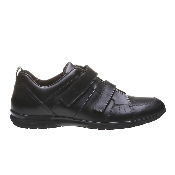 Kožené tenisky bata, čierna, 814-6344 - 26