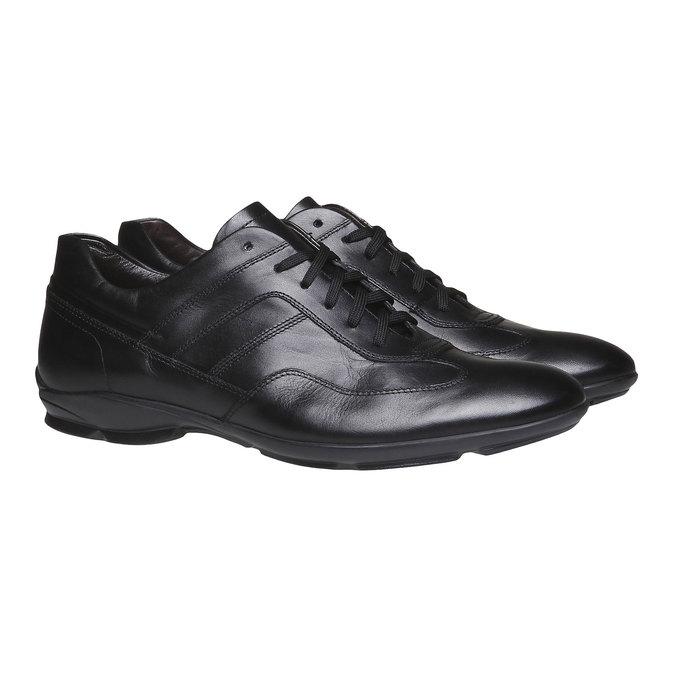 Šnurovacia obuv Giorgio bata, čierna, 824-6988 - 26