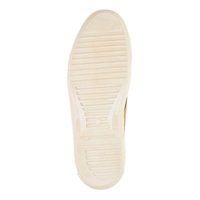 Pánska kožená obuv weinbrenner, hnedá, 843-8661 - 26