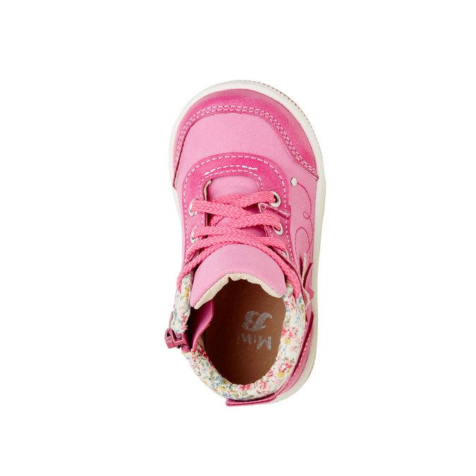 Detské členkové topánky mini-b, ružová, 121-5100 - 19