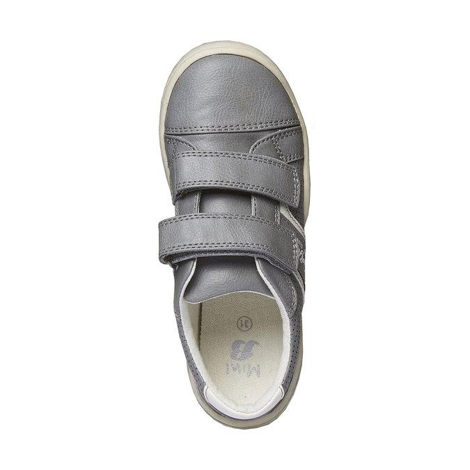 Detské tenisky na suchý zips mini-b, šedá, 311-2214 - 19