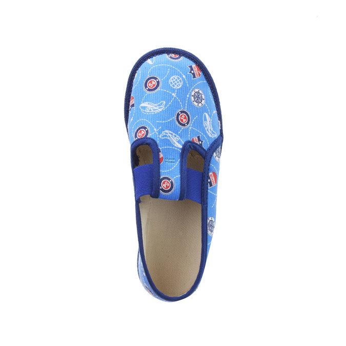 Detské papuče bata, modrá, 279-9011 - 19