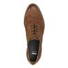 Dámske kožené poltopánky bata, hnedá, 526-4600 - 19