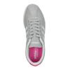 Šedé dámske tenisky z brúsenej kože adidas, šedá, 503-2201 - 19