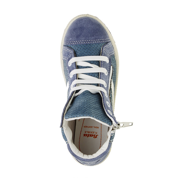 Detské členkové tenisky flexible, modrá, 311-9194 - 19