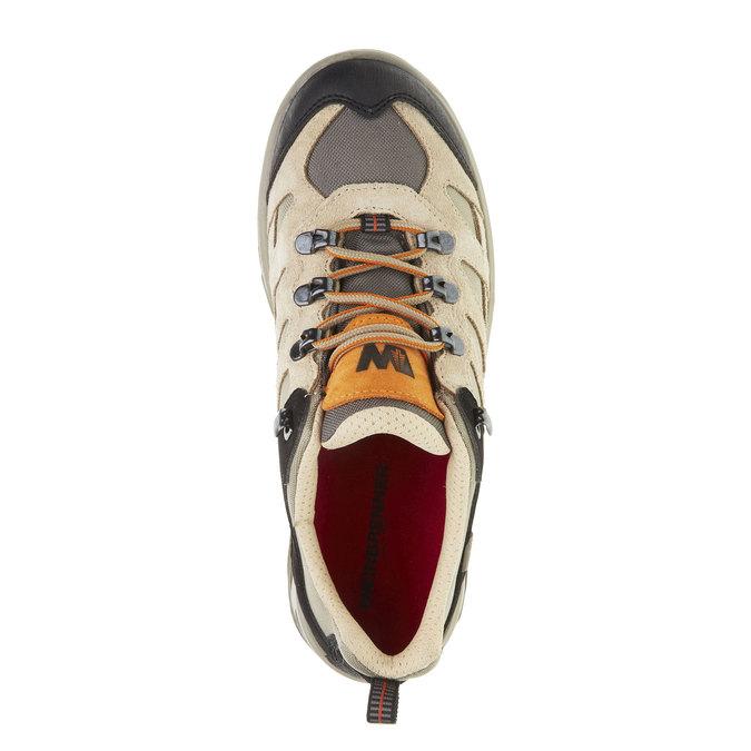 Kožené Outdoor topánky, žltá, 543-8208 - 19