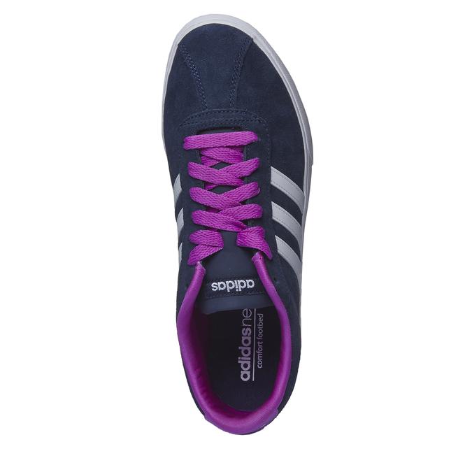 Ležérne kožené tenisky adidas, modrá, 503-9685 - 19