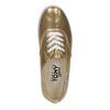Zlaté dámske tenisky tomy-takkies, zlatá, 519-8690 - 19
