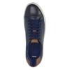 Pánske kožené tenisky bata, modrá, 844-9626 - 19