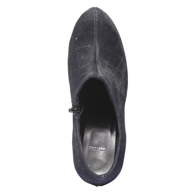 Párty lodičky bata, čierna, 721-6102 - 19