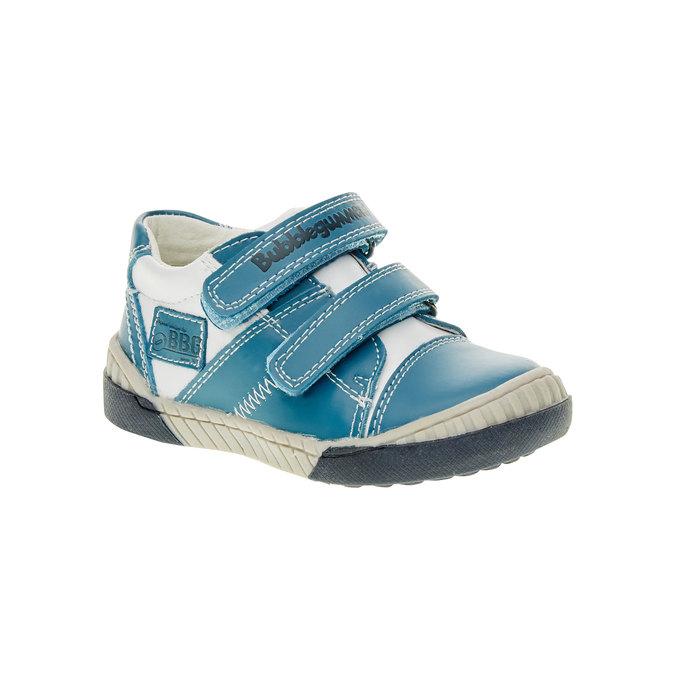 Detské tenisky na suchý zips bubblegummer, modrá, 113-9145 - 13