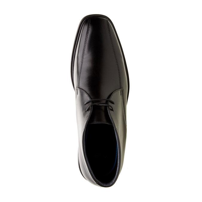 Kožené členkové topánky climatec, čierna, 894-6208 - 19