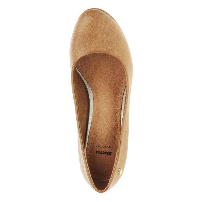 Lodičky na širokom podpätku bata, hnedá, 721-4946 - 19