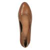 Dámske lodičky na širokom podpätku bata, hnedá, 726-3604 - 19