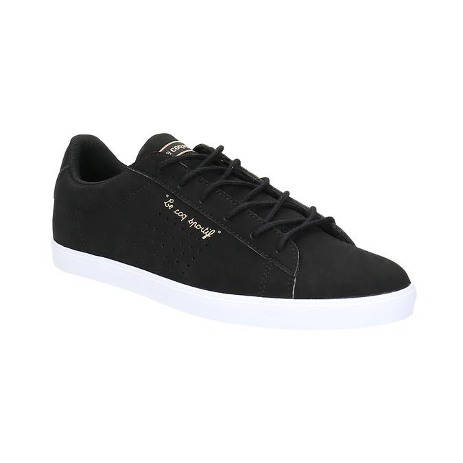 Čierne dámske tenisky le-coq-sportif, čierna, 501-6438 - 13