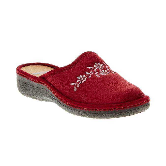 Dámska domáca obuv bata, červená, 579-5233 - 13