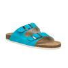 Dámske kožené papuče de-fonseca, 573-9620 - 13