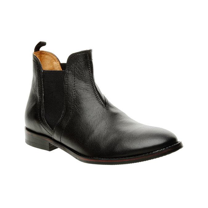 Dámske kožené Chelsea Boots bata, čierna, 594-6267 - 13