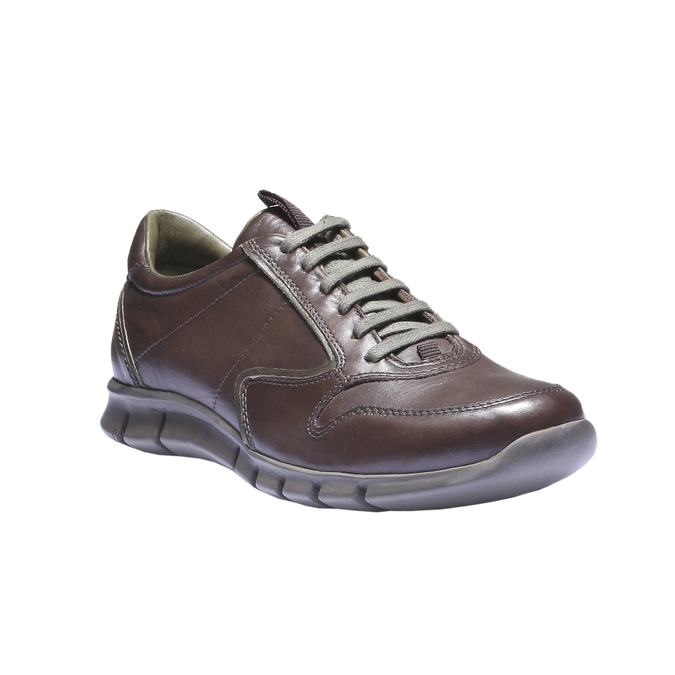 Kožené tenisky bata, hnedá, 844-4270 - 13