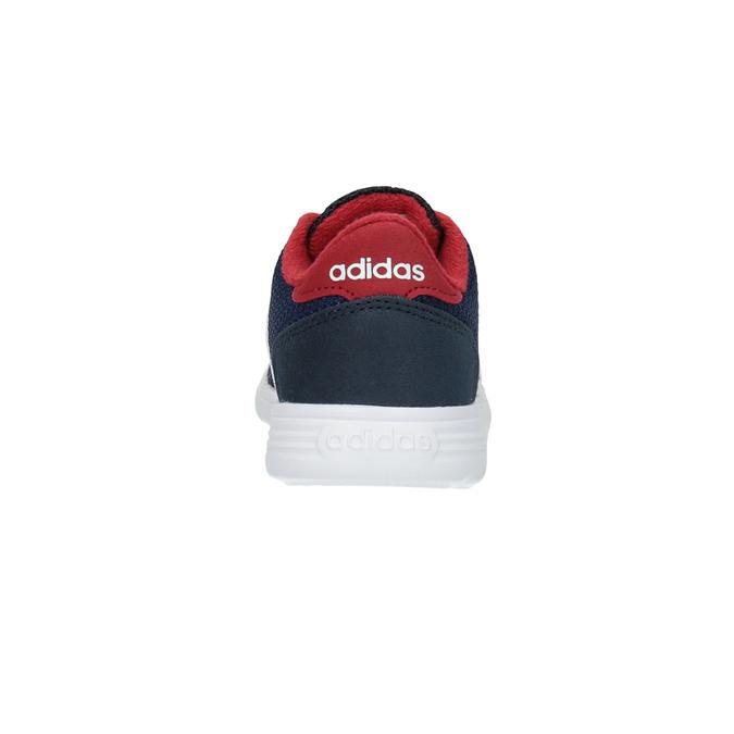 Detské tenisky v športovom dizajne adidas, modrá, 109-9141 - 17