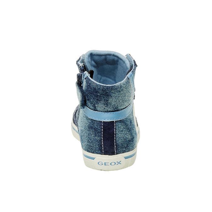 Detské členkové tenisky geox, modrá, 319-9104 - 17
