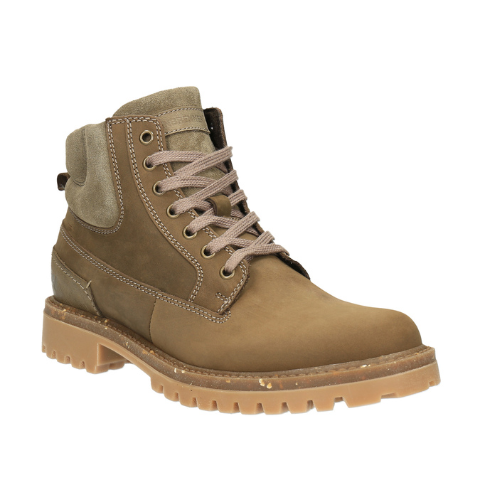 Pánska zimná obuv kožená weinbrenner, hnedá, 896-3102 - 13