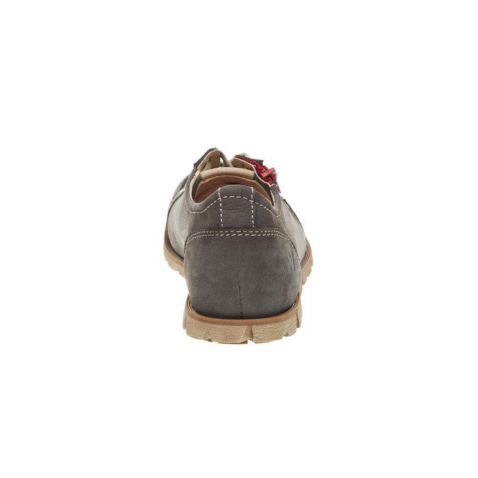Kožené tenisky so zipsom weinbrenner, hnedá, 546-9246 - 17