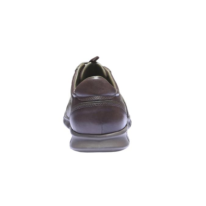 Kožené tenisky bata, hnedá, 844-4270 - 17