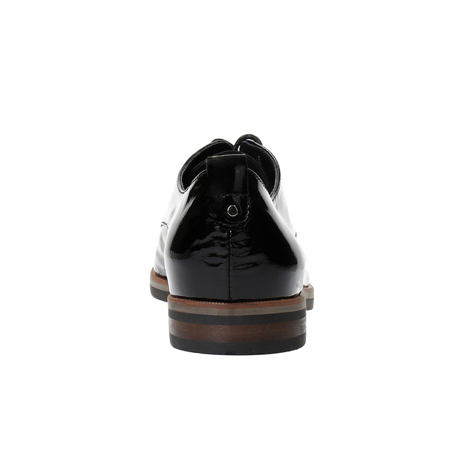 Dámske Derby poltopánky bata, čierna, 528-6600 - 17