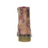 Kožená členková obuv s kvetinovým vzorom bata, ružová, 596-5609 - 17