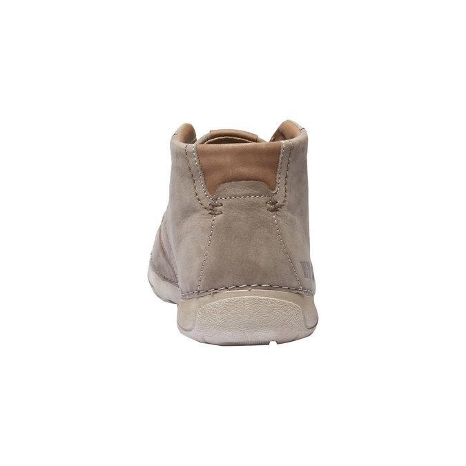 Kožená členková obuv weinbrenner, béžová, 896-2442 - 17