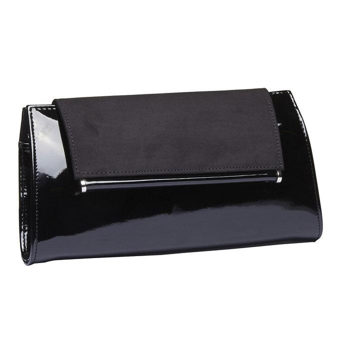 Dámska listová kabelka bata, čierna, 961-6745 - 13