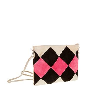 Kožená Crossbody kabelka bata, čierna, 963-6125 - 13