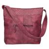 Vínová kabelka s dlhým uchom bata, červená, 961-5600 - 26