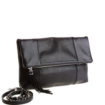 Crossbody kabelka so strapcom bata, čierna, 961-6777 - 13