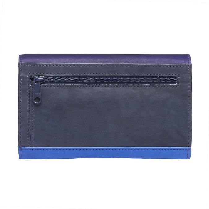Dámska kožená peňaženka bata, modrá, 944-9156 - 26