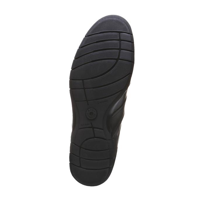 Kožené tenisky bata, čierna, 824-6351 - 18