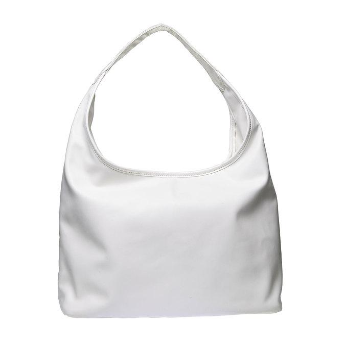 Hobo kabelka v pletenom designe bata, biela, 961-1786 - 26