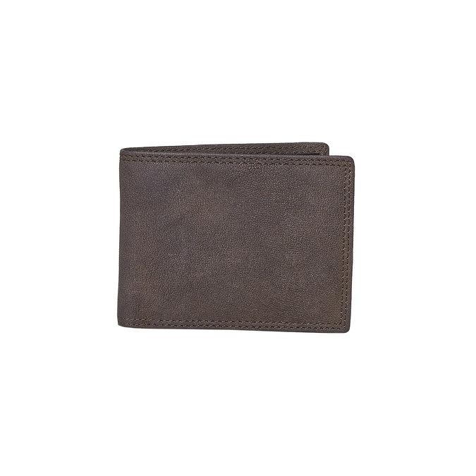 Pánská kožená peňaženka bata, hnedá, 944-4129 - 13