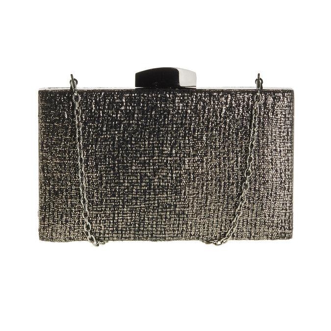 Listová kabelka s retiazkou bata, čierna, 969-6234 - 26